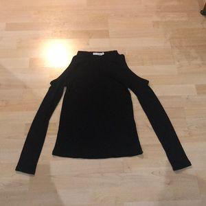 Rag & Bone Black Long Sleeve Size Med